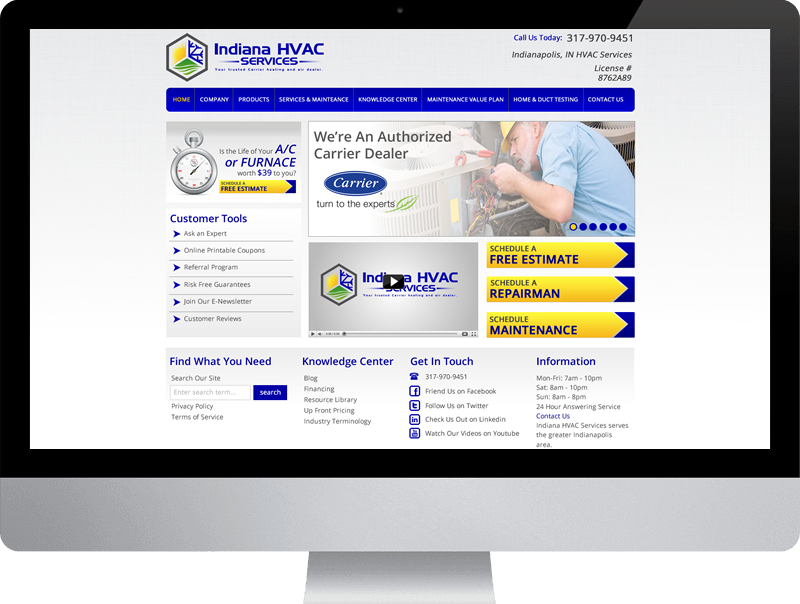 Indiana HVAC Services